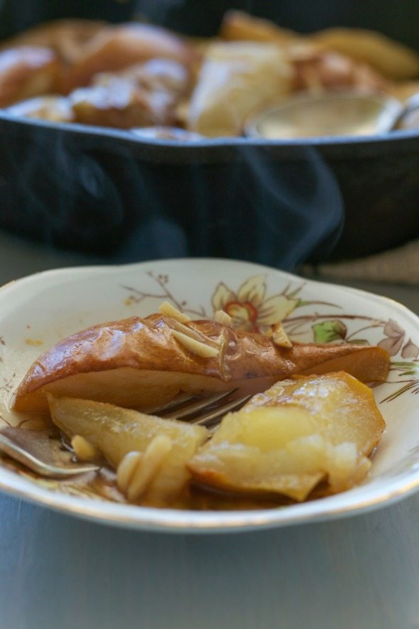 Roasted Maple Balsamic Pears An Unrefined Vegan