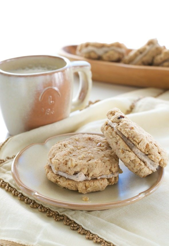 Maple Spice Sandwich Cream Cookies An Unrefined Vegan