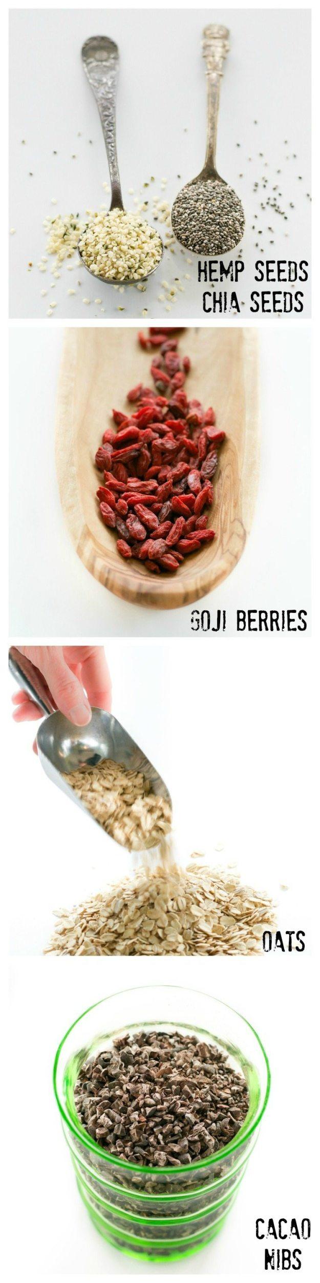 Superfood Granola Ingredients An Unrefined Vegan