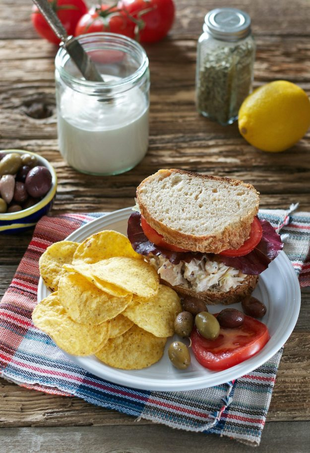Jackfruit Tuna Salad Sandwich An Unrefined Vegan