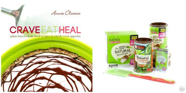 Crave Eat Heal + Natvia Giveaway on An Unrefined Vegan