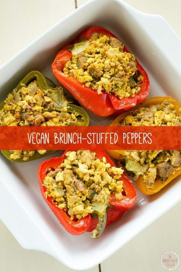 Vegan Brunch-Stuffed Peppers An Unrefined Vegan