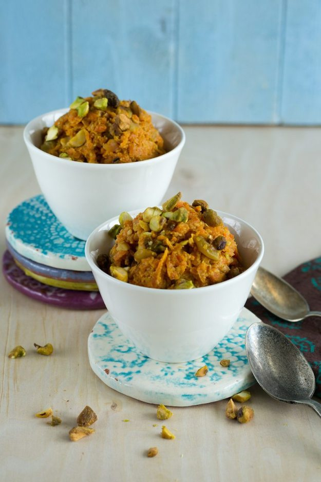 Vegan Richa's Carrot Halwa Photo by An Unrefined Vegan