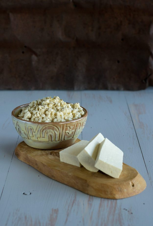 Tofu Feta by An Unrefined Vegan