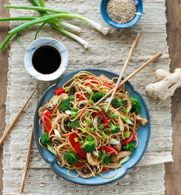 Spaghetti Lo Mein from Cook the Pantry Photo by Annie Oliverio