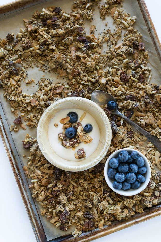Sesame Apricot Granola from Vegan Bowl Attack Photo by Annie Oliverio