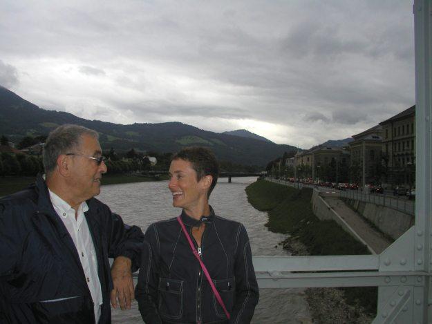 Dad and Ann Salzburg Austria
