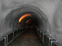 Zona visitable de la Cueva del Ángel