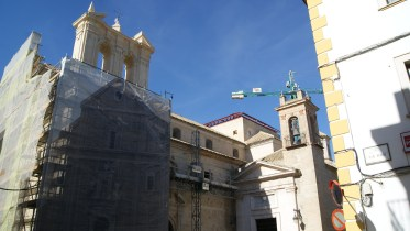 Obras en San Pedro Mártir
