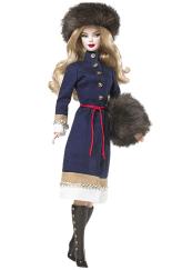 Russia Barbie Doll