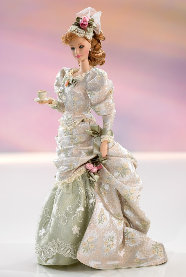 Epoca Victoriana Una Vitrina Llena De Tesoros Barbie Blog