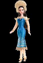Sumatra-Indonesia Barbie Doll