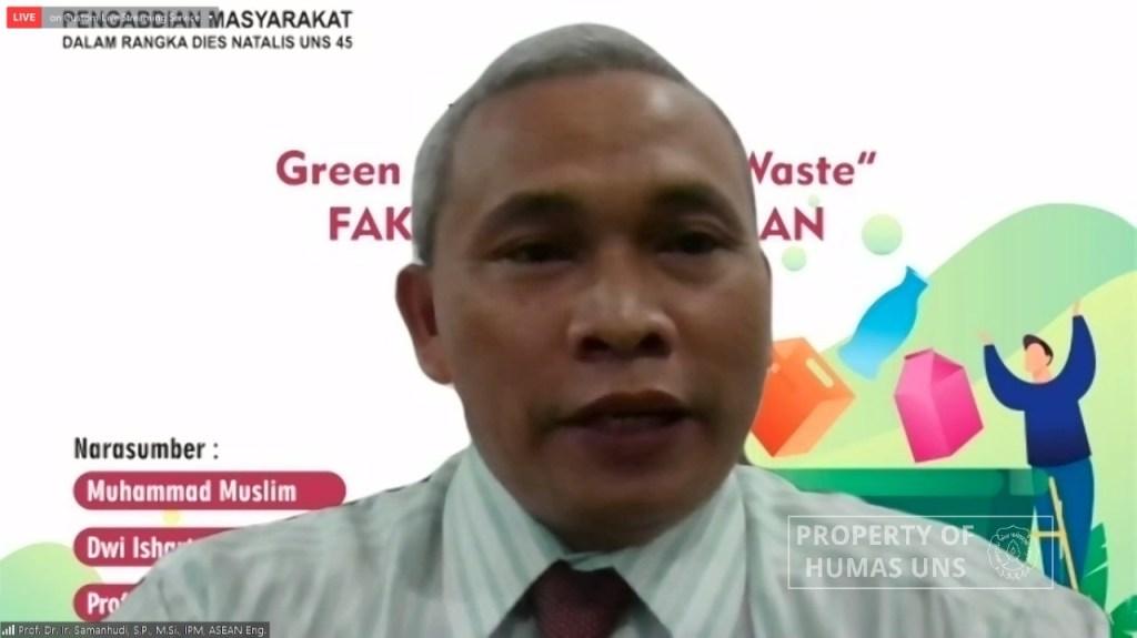 FP UNS Paparkan Cara Jitu Mengelola Sampah