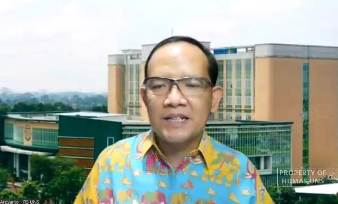 Jubir Satgas Covid-19 RS UNS: Indonesia Ada di Gelombang Ketiga Covid-19
