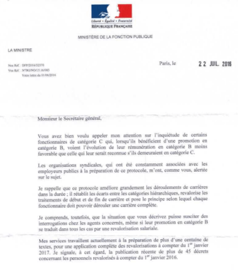 Page1LettreMinistre