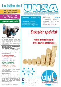 06 Journal UNSA 15 avril 2017 - spécial catégorie B PPCR-01