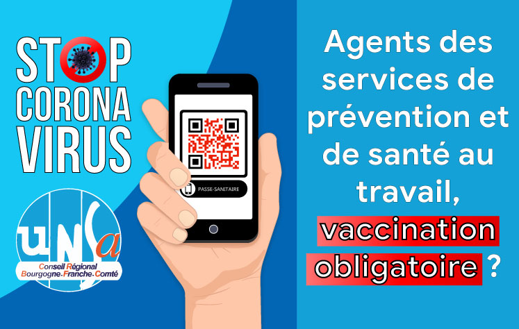 Pour les agents des services de prévention et de santé au travail, vaccination obligatoire ?