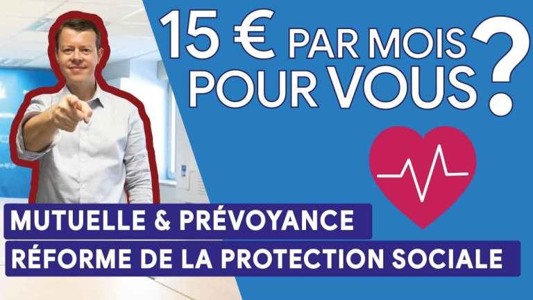 🎬 Tadaaaaaa 📹  Avez-vous droit aux 15 € pour votre mutuelle ? #réforme de la protection sociale