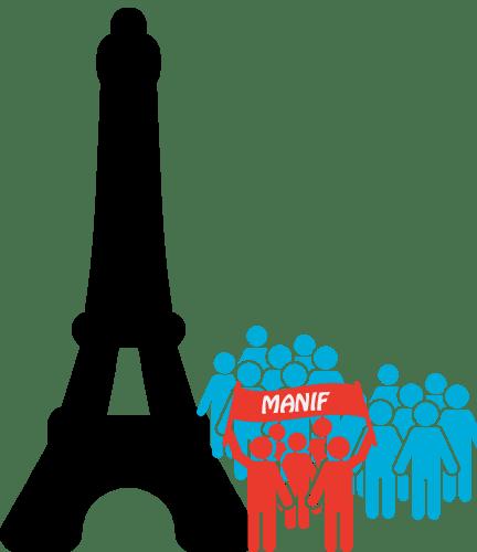Précisions sur la manifestations du 14 mars à Paris