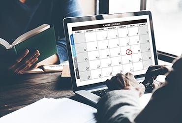 Calendrier prévisionnel des concours et examens pour l'année 2019