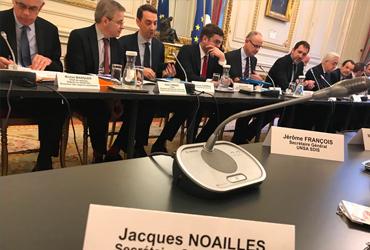 [COMMUNIQUE INTERSYNDICAL] Réunion 3 : rencontre avec le Ministre de l'intérieur et les financeurs
