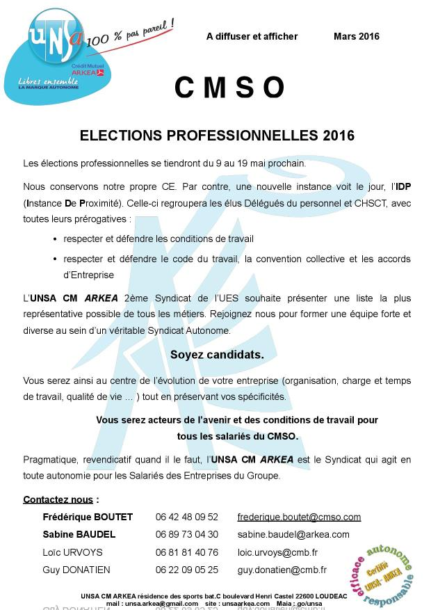 2016.03 UNSA tract appel candidatures CMSO