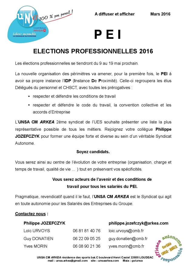 2016.03 UNSA tract appel candidatures PEI