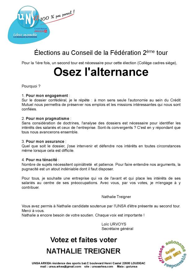 2017.04 UNSA tract E lections 2° tour sie ge