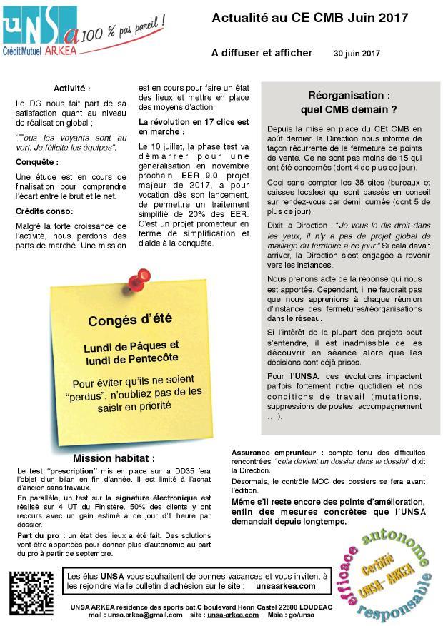 2017.06.30 UNSA communication CEt Breton
