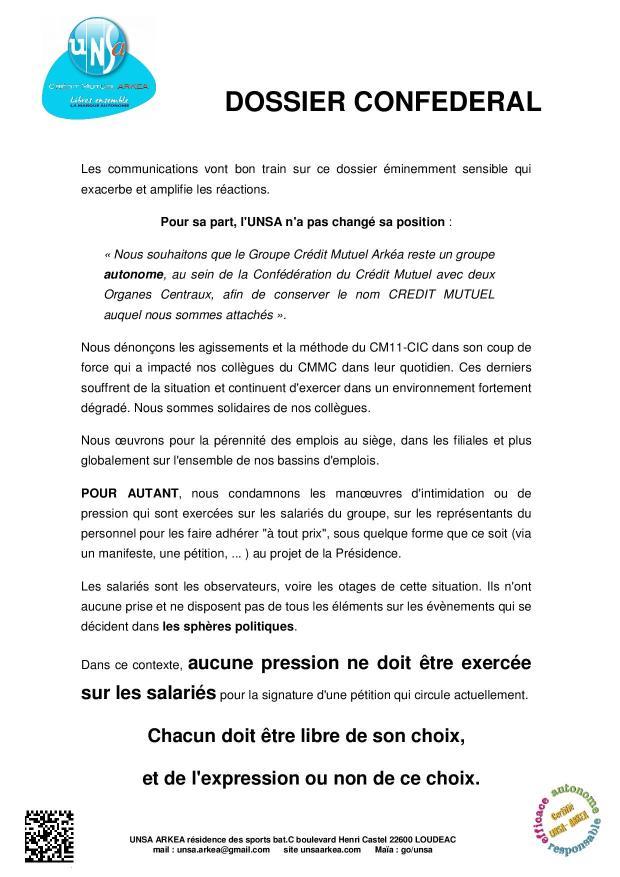 2017.10 UNSA tract dossier Confédéral-2
