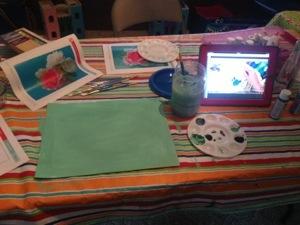 homeschool art class