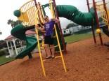 on playground