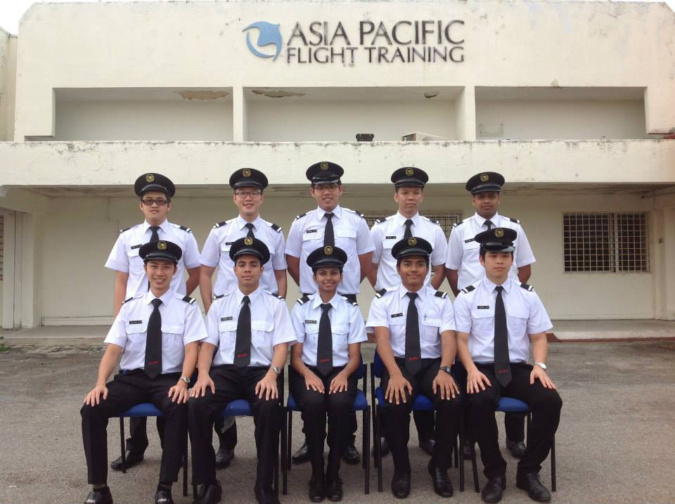 Kugan was accepted into APFT in 2003 and completed his course in June last year to become First Officer (image: cj.my)