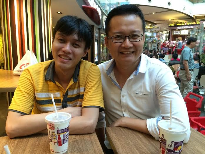 Herwin with CK, the CTO of Spini