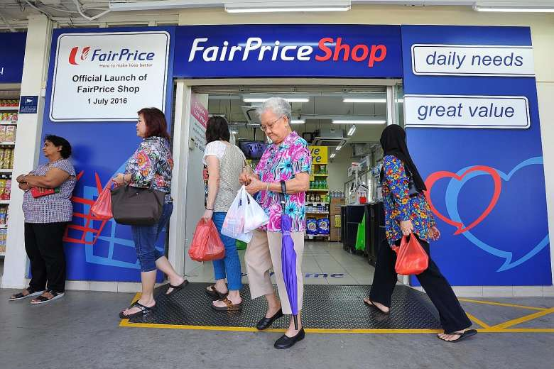 Products that offer greater value will take up half the store space at FairPrice Shops, compared to 20% of the space in a typical FairPrice supermarket. (Image via Straits Times)