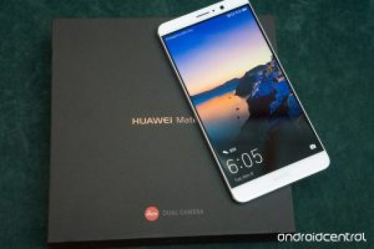 Huawei's Mate 9. Image via Android Central