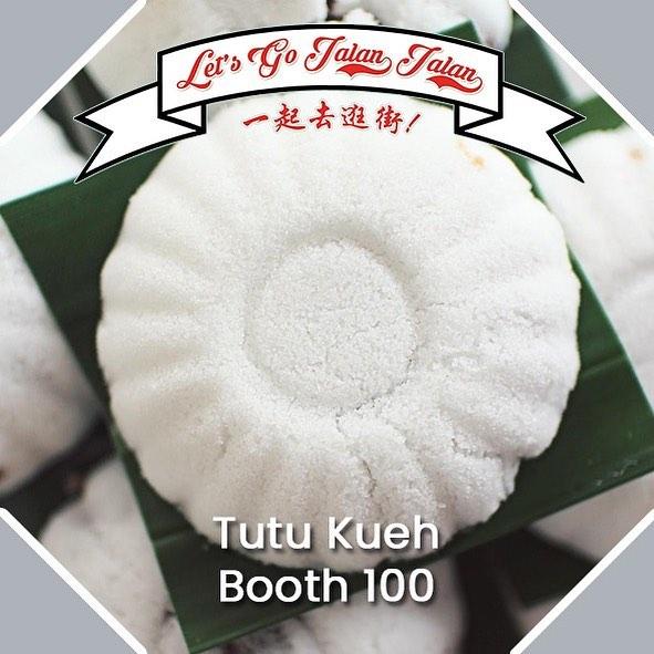 Let's Go Jalan Jalan Tutu Kueh Booth 100