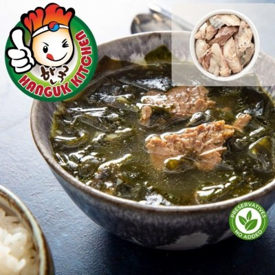 Traditional Chicken Seaweed Soup