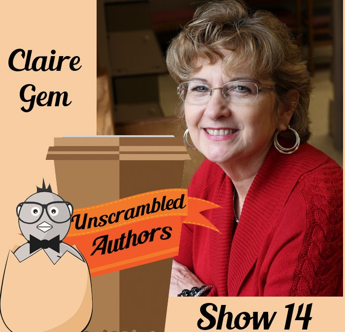 Unscrambled Authors Episode 14: An Interview with Claire Gem