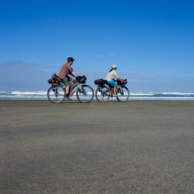 Beach riders - Chiloe