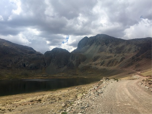 The start of the final climb to Punta Pumacocha