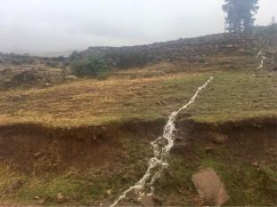 Water everywhere. Hello wet season