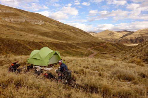 So many opportunities to wild camp