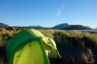 The camping is so easy and in beautiful locations