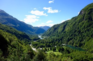 So much green on the Carretera Austral