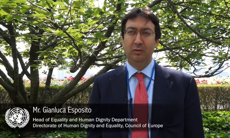 Interview with Gianluca Esposito, Council of Europe
