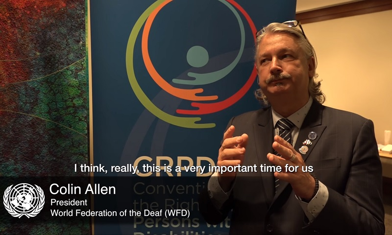 Interview with Colin Allen on Persons with Disabilities and the UN CRPD