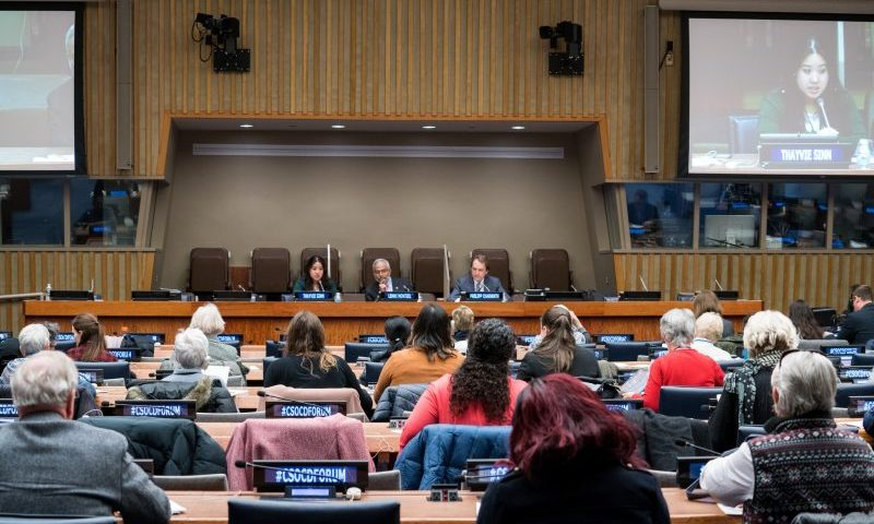 UNDESA DSPD Briefing for NGOs: Participation in the CSocD56