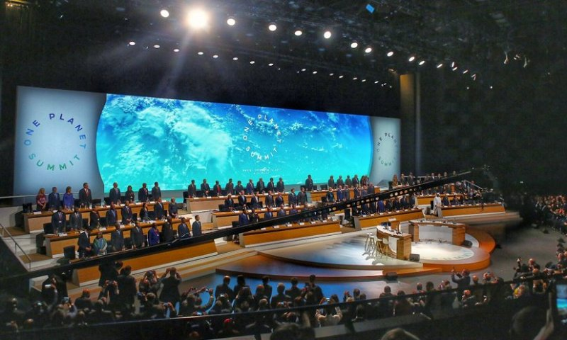 One Planet Summit: Finance Commitments to Avoid a Grey Future