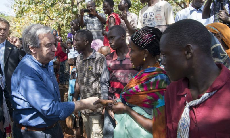 UN SG urges world to come together in 2018 to tackle pressing challenges